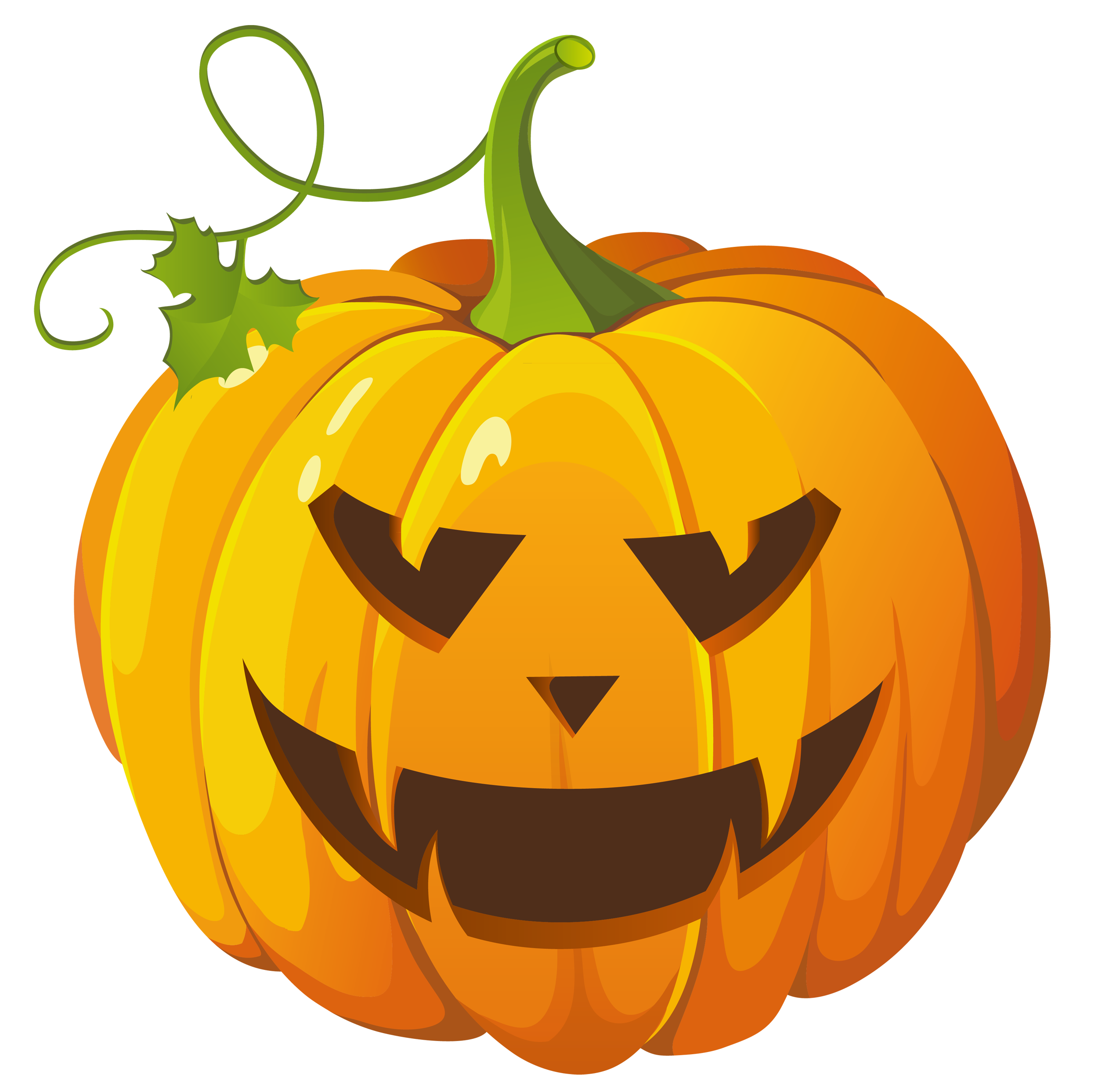 Animated Pumpkin Clipart.