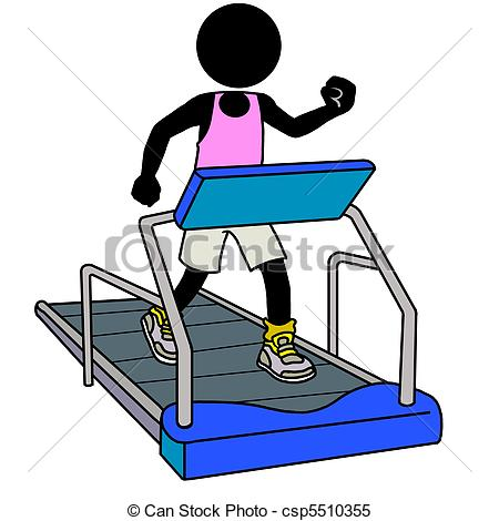 Watch more like Treadmill Exercise Clip Art.