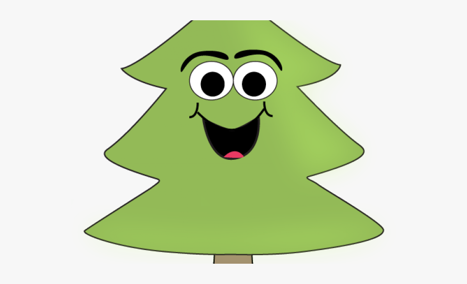 Pine Tree Clipart Face.