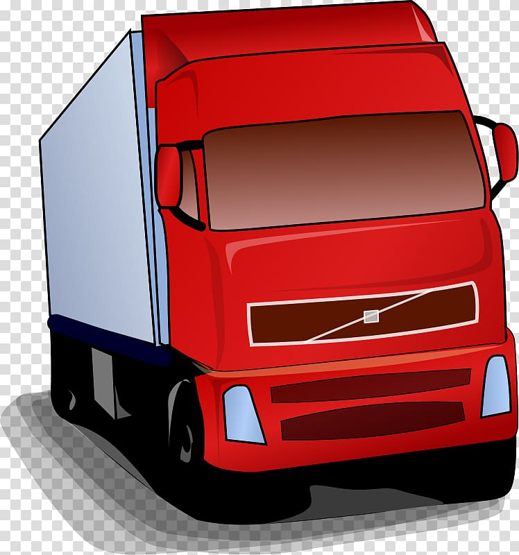 Volvo Trucks Pickup truck Volvo FH Van , Animated Truck transparent.