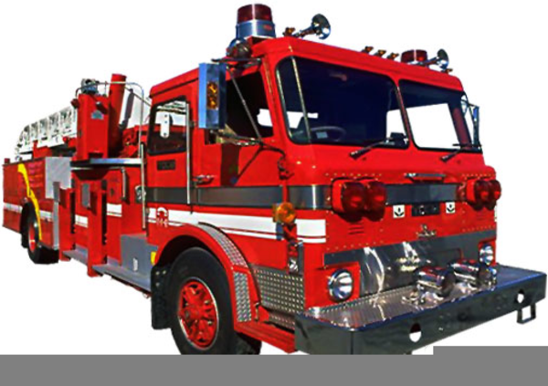 Animated Fire Truck Clipart.
