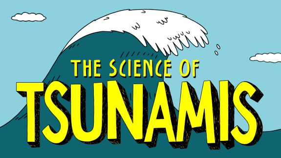 How tsunamis work (in animated GIFs).