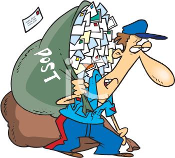 Fallen Mailbox Clip Art.