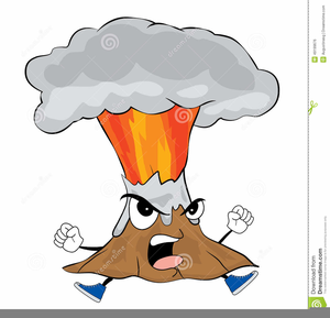 Animated Clipart Of Volcanoes.