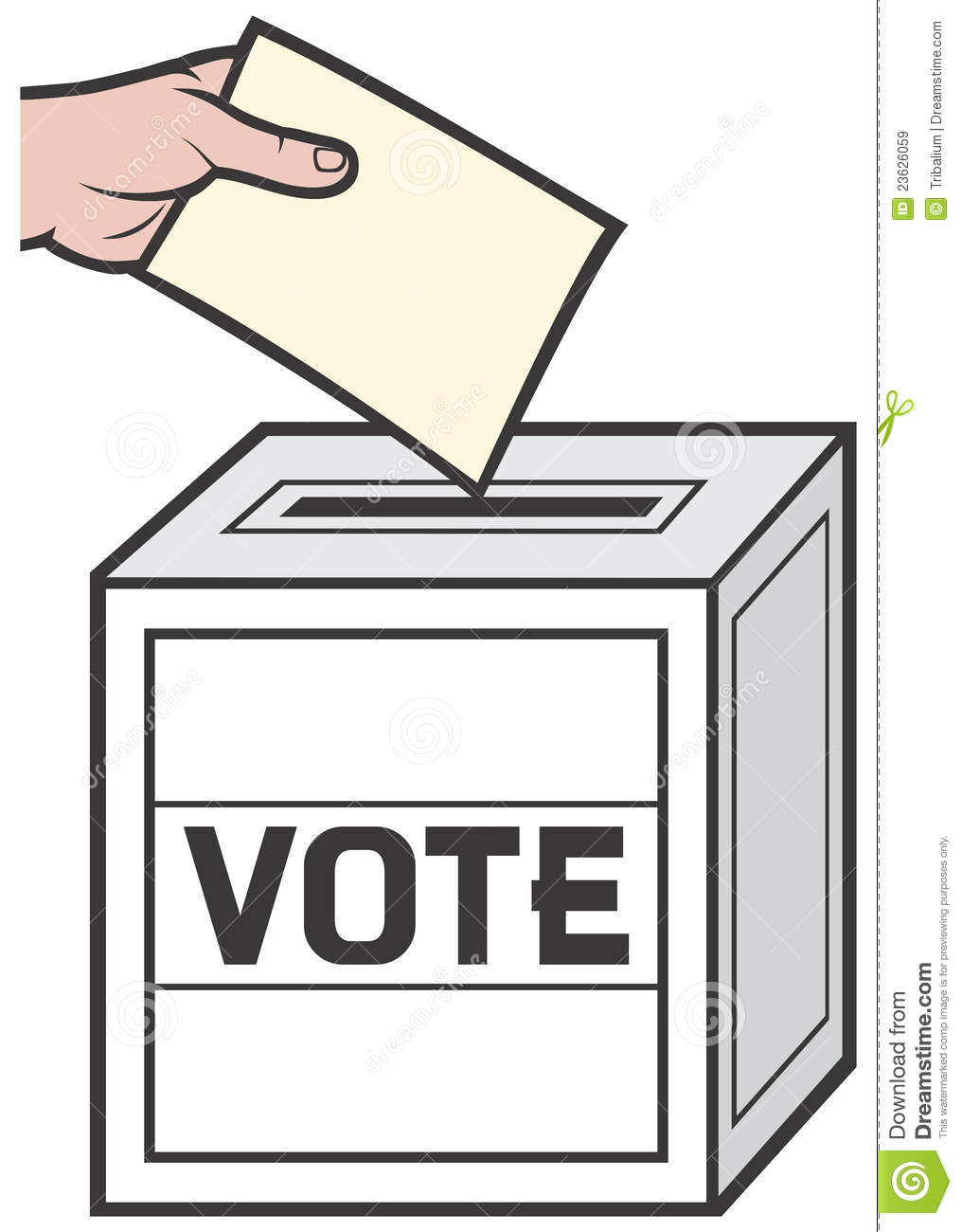 Animated vote clipart.