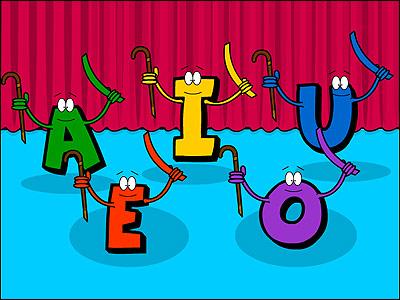 education: A comparison between the Arabic Alphabet vowel.