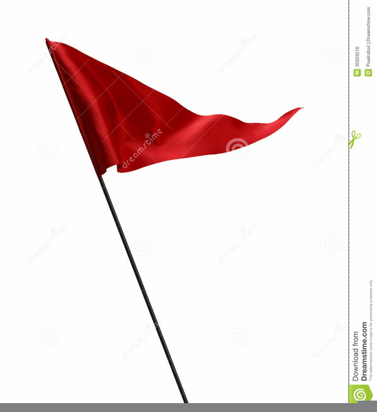 Animated Waving Flag Clipart.