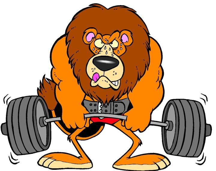 Free Cartoon Weightlifter, Download Free Clip Art, Free Clip.