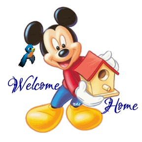 119 Welcome Home free clipart.