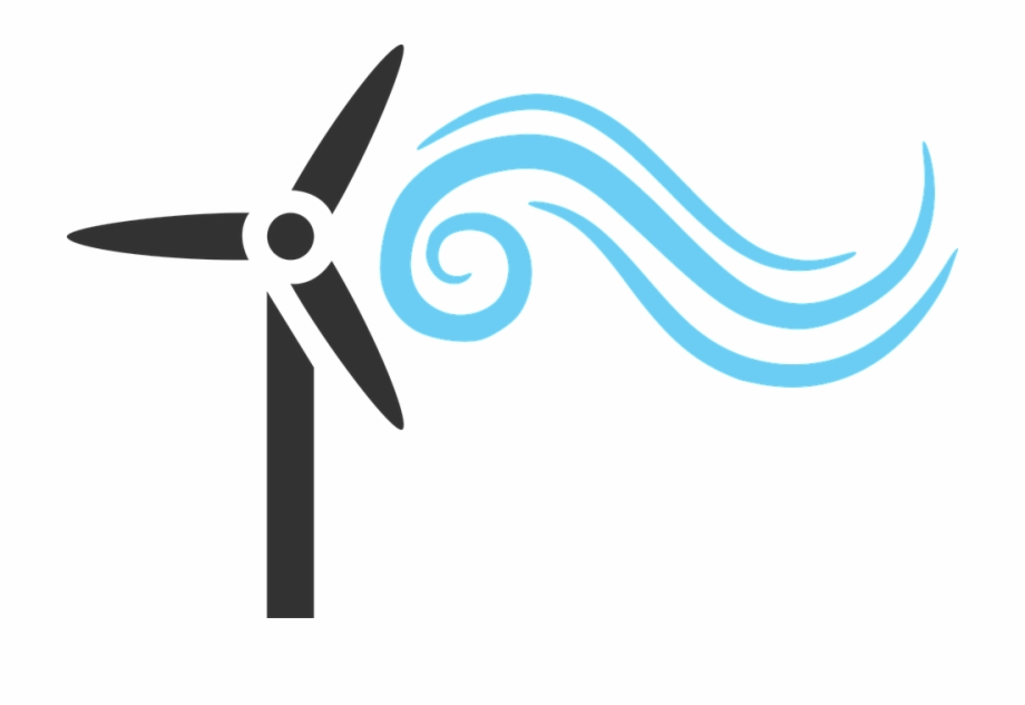 Transparent Wind Energy Clipart.