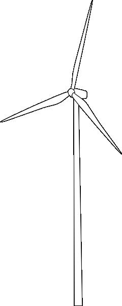 Mygeomatic Wind Turbine Clip Art at Clker.com.