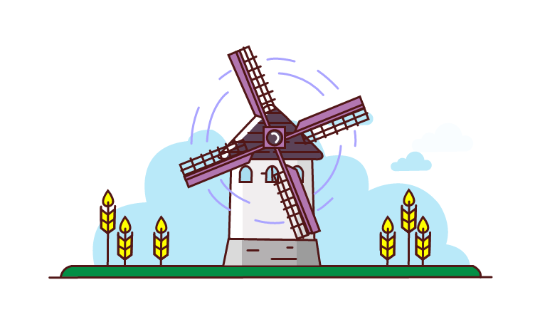 Windmill Animation Pack.