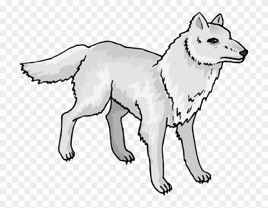Animated Wolves Cliparts.