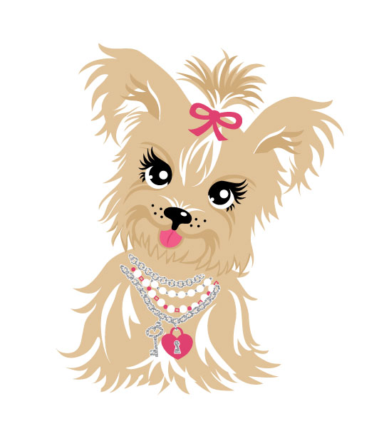 Free Yorkie Cliparts, Download Free Clip Art, Free Clip Art.