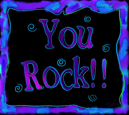 You Rock Animated Clipart.