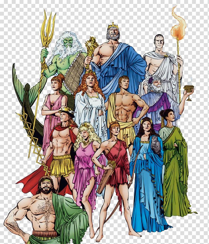 Greek Gods and Goddesses , Zeus Ares Hera Ancient Greece.