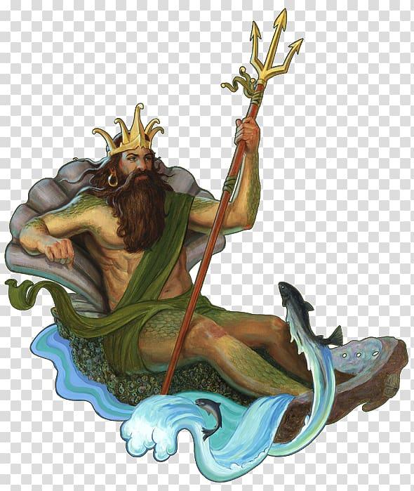 Poseidon Hades Zeus Hera Hermes, others transparent.