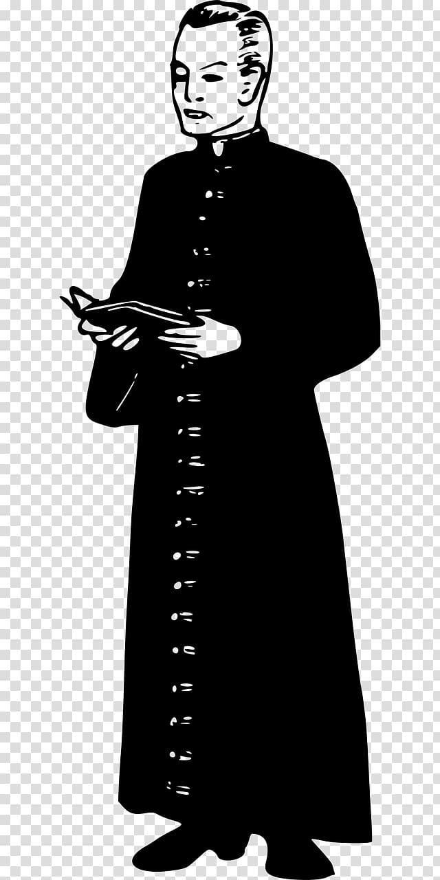 Pastor Clergy Priest 神父 Minister, 衣服 transparent.