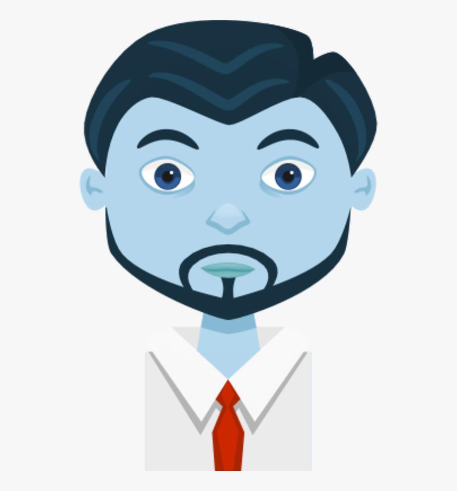 Male Man Cartoon Avatar.
