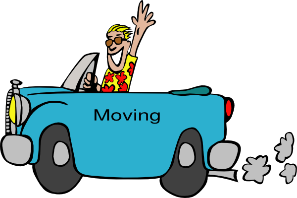 Moving Animation Safety Clipart.