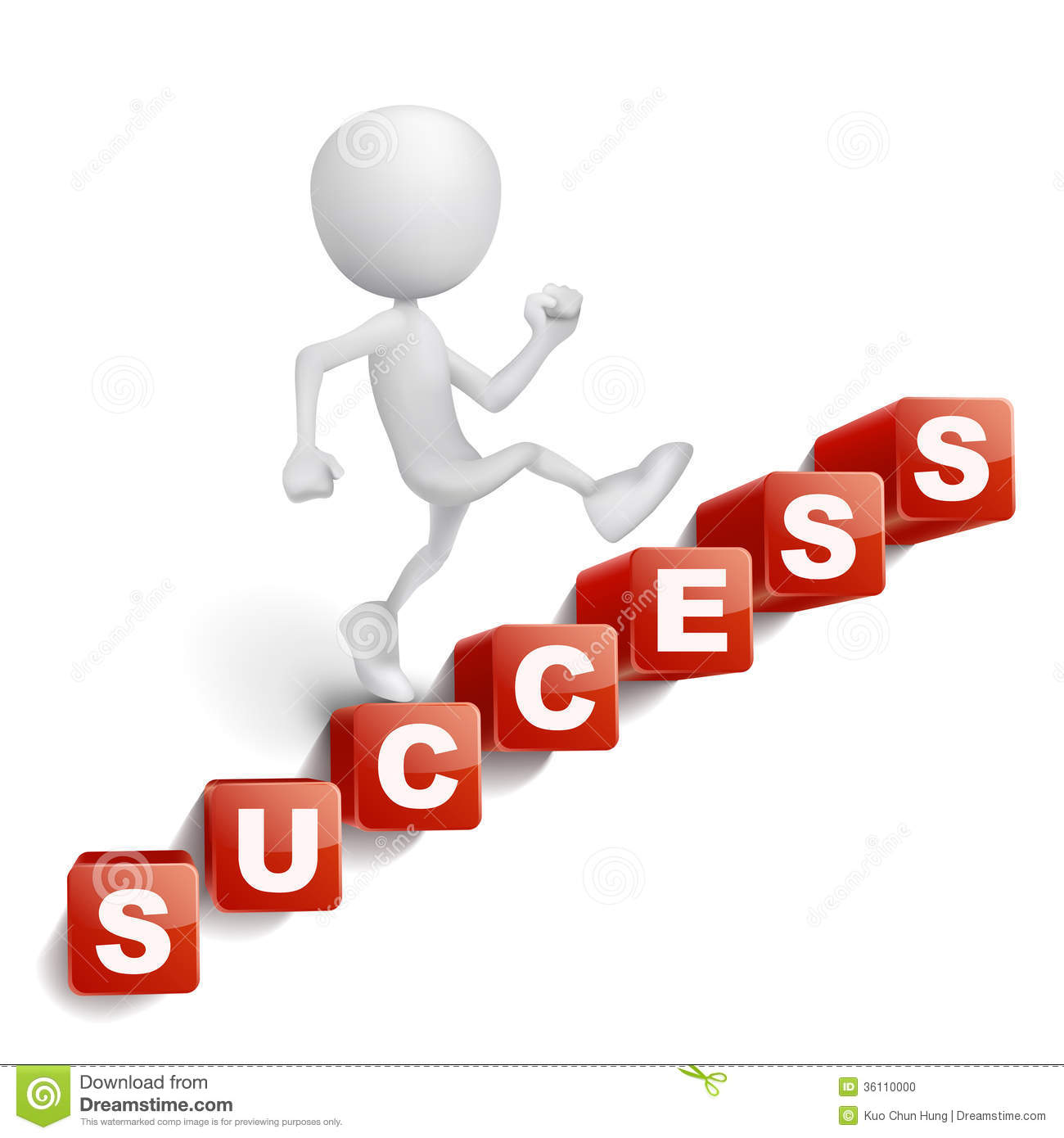 Steps To Success Clipart.