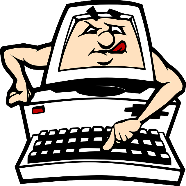 Pc clipart computer animation, Pc computer animation.