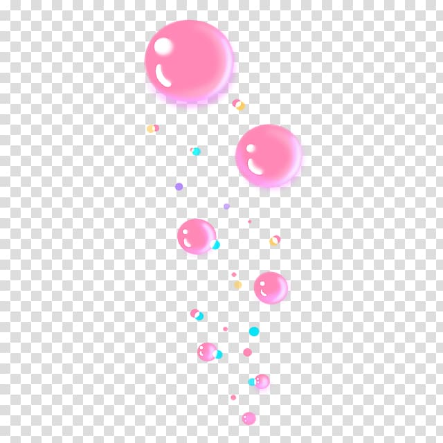 Pink bubbles , Bubble Animation, Pink fresh bubbles floating.