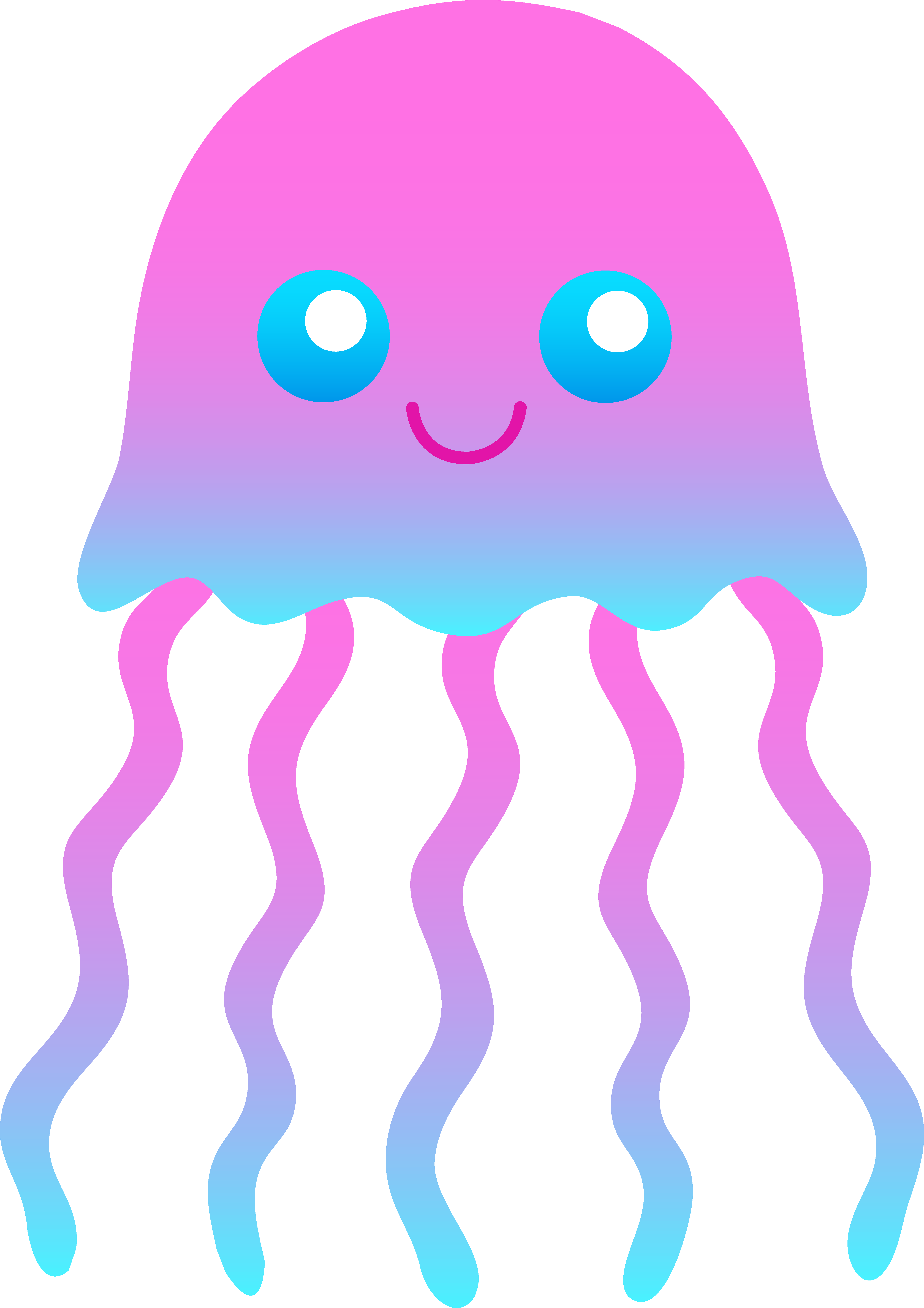 Free Cartoon Jellyfish Pictures, Download Free Clip Art.
