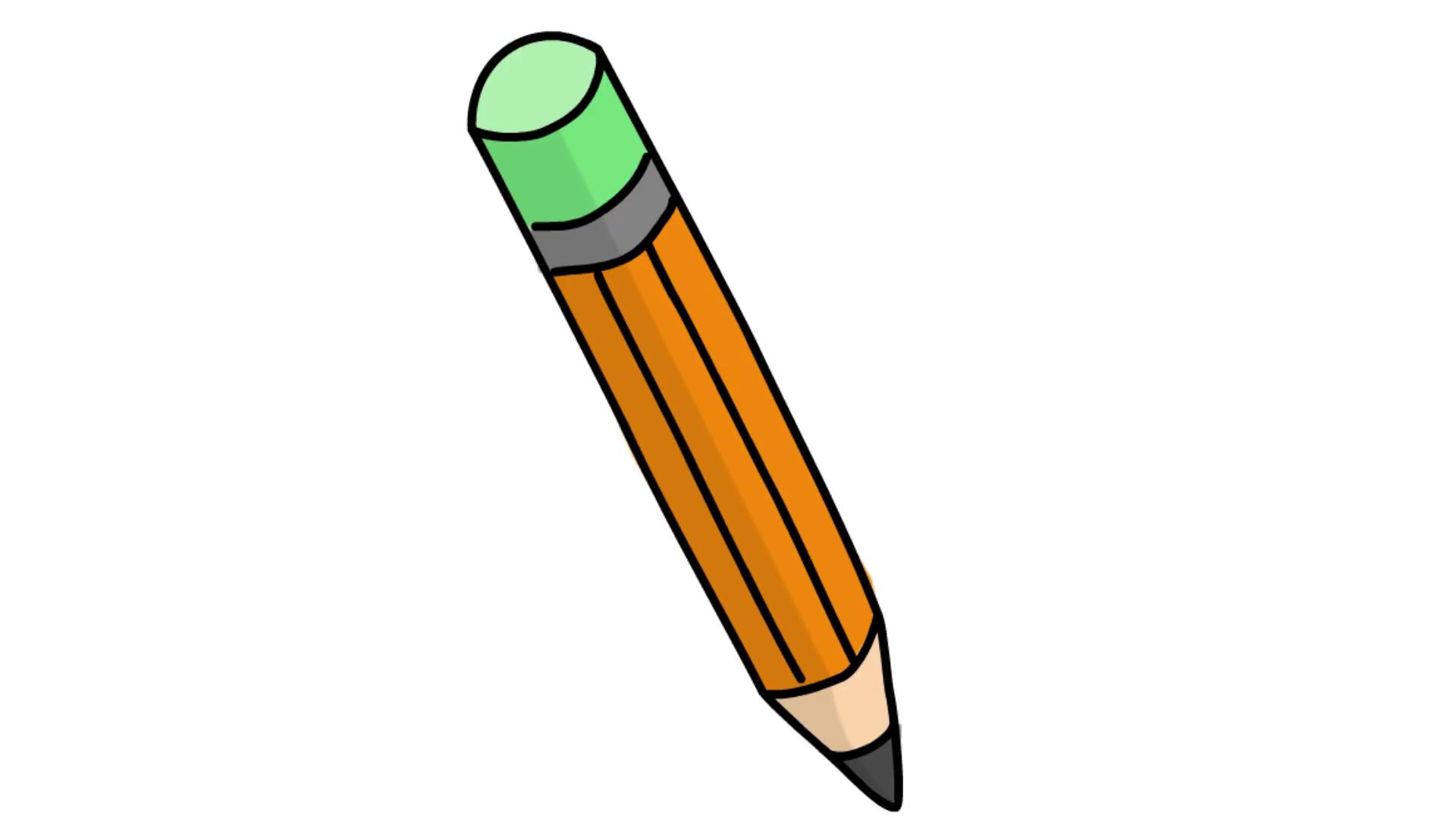 pencil animation.