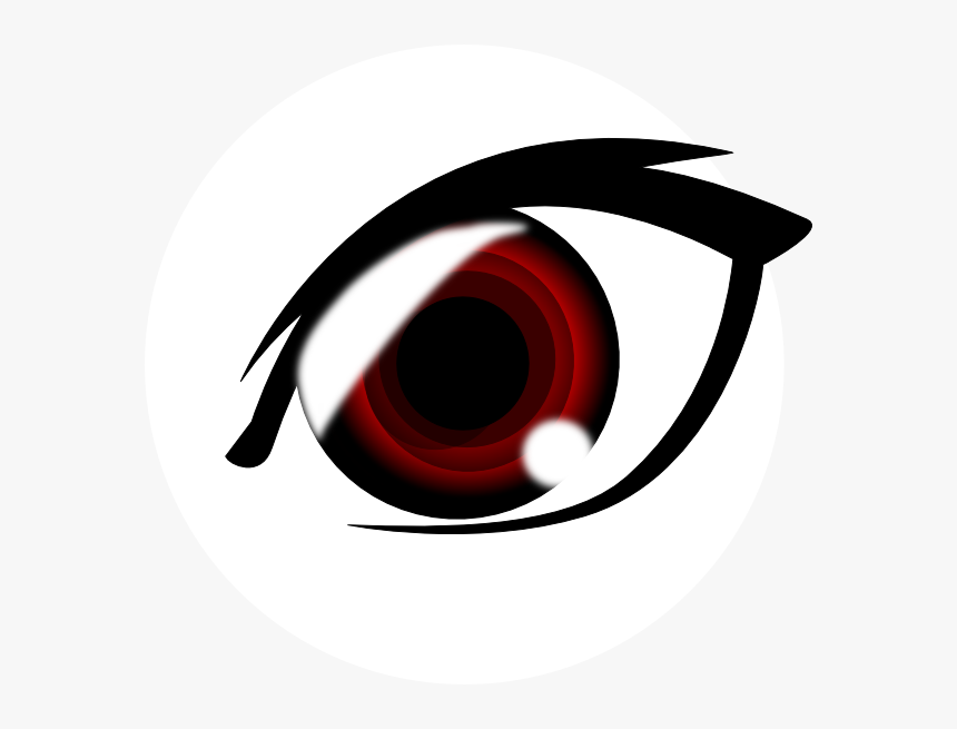 Angry Anime Eyes Png.