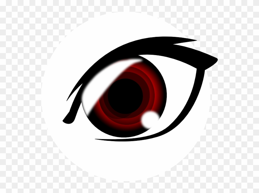 Red Eyes Clipart Transparent.