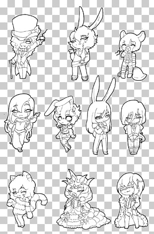61 chibi Anime Base PNG cliparts for free download.