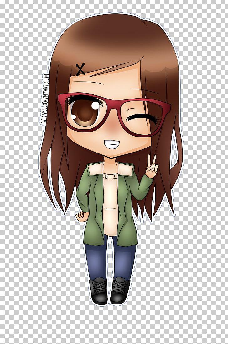 Chibi Drawing Glasses Anime PNG, Clipart, Anime, Art, Black.