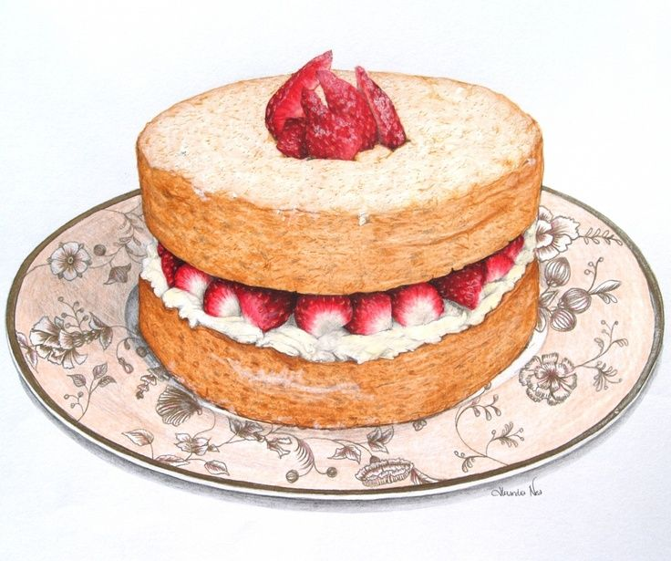 Sponge cake clipart #7 discovered by Beℛabbit.