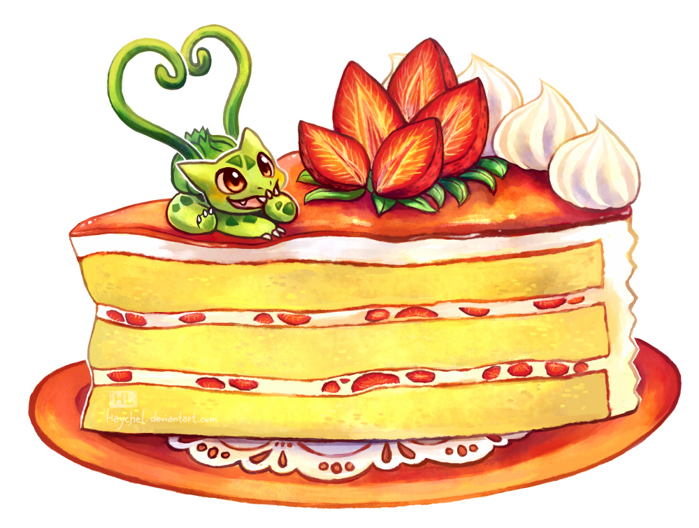 Clipart cake strawberry, Clipart cake strawberry Transparent.
