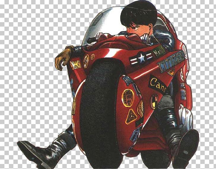 Shotaro Kaneda Motorcycle Manga Tetsuo Shima Anime, Kaneda.