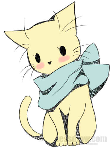 Anime clipart cat, Anime cat Transparent FREE for download.