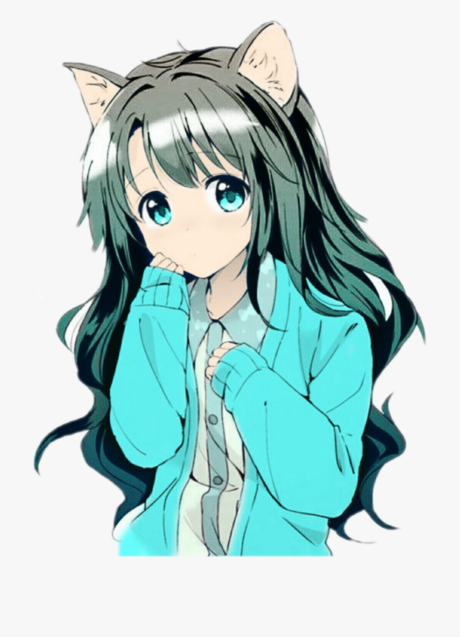 Anime Girl Clipart Ear.