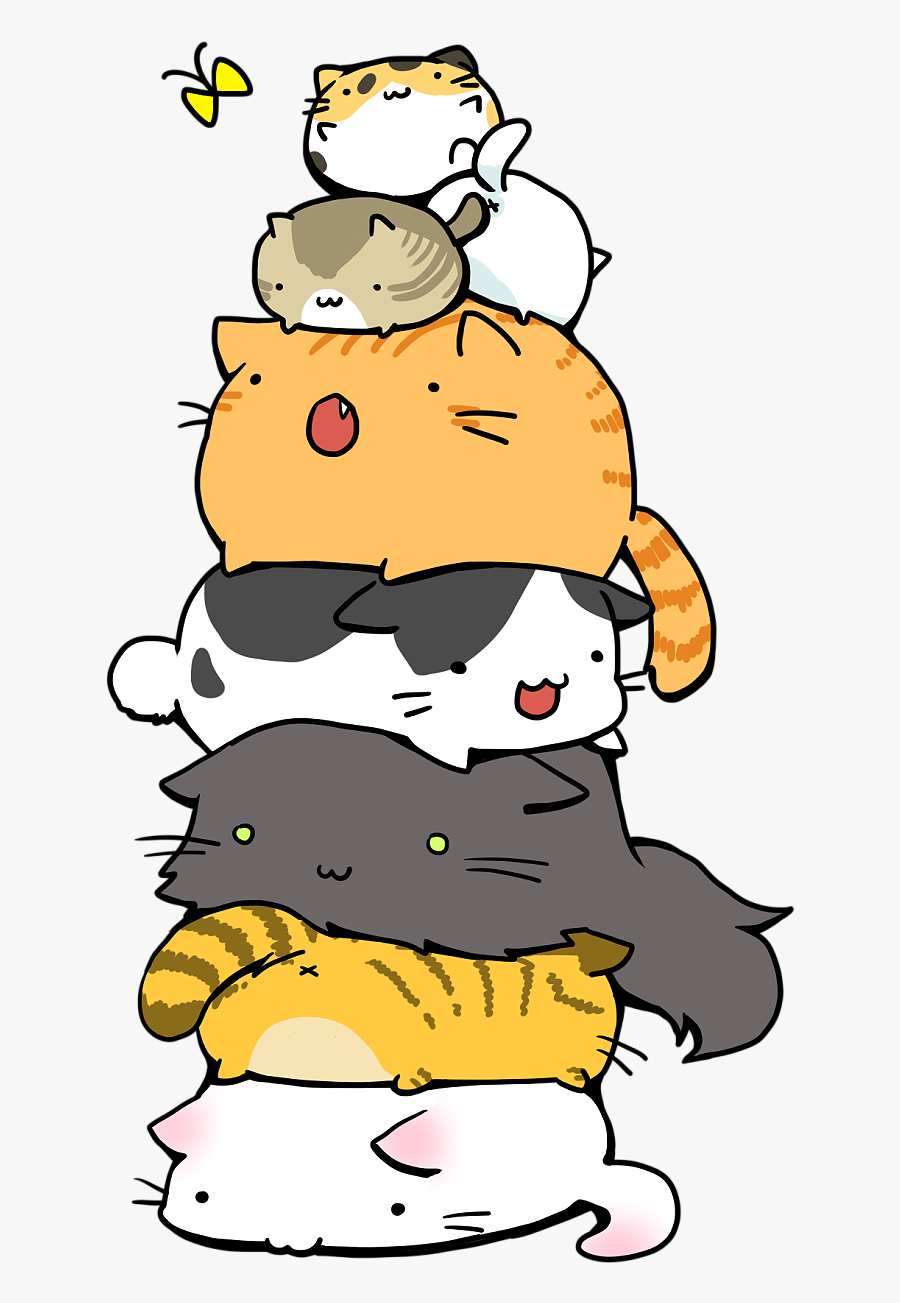 Anime Cute Cat Wallpaper Iphone , Free Transparent Clipart.