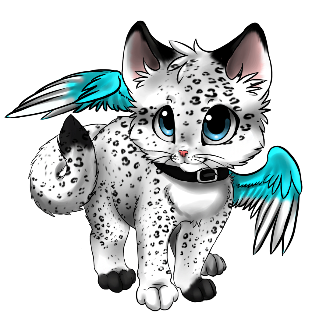 Kitten clipart anime cat, Kitten anime cat Transparent FREE.