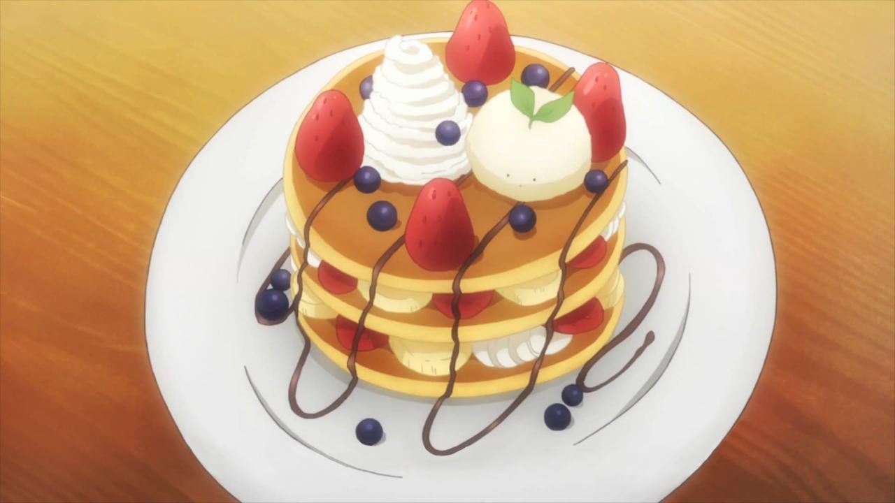 Itadakimasu Anime! (Christmas pancakes! Gochuumon wa Usagi Desu ka.