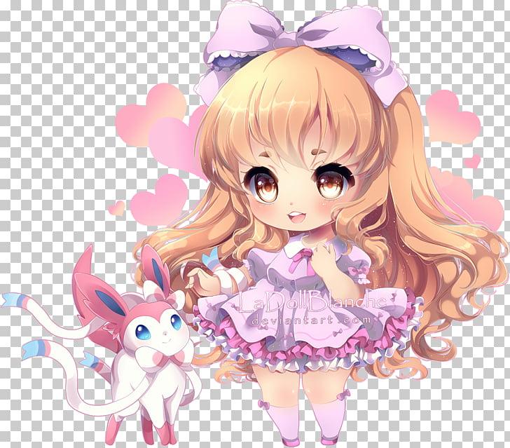 Anime Mangaka Chibi Art, cinderella chibi PNG clipart.