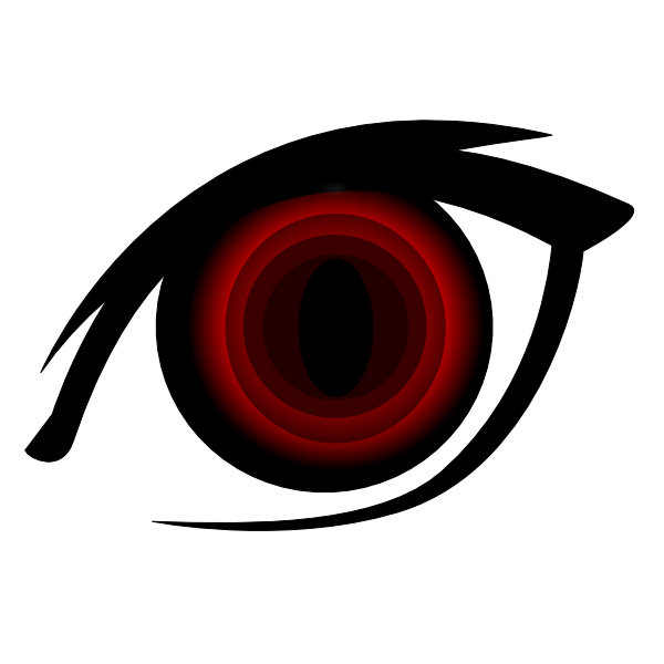 Vampire Anime Eye Clip Art at Clker.com.
