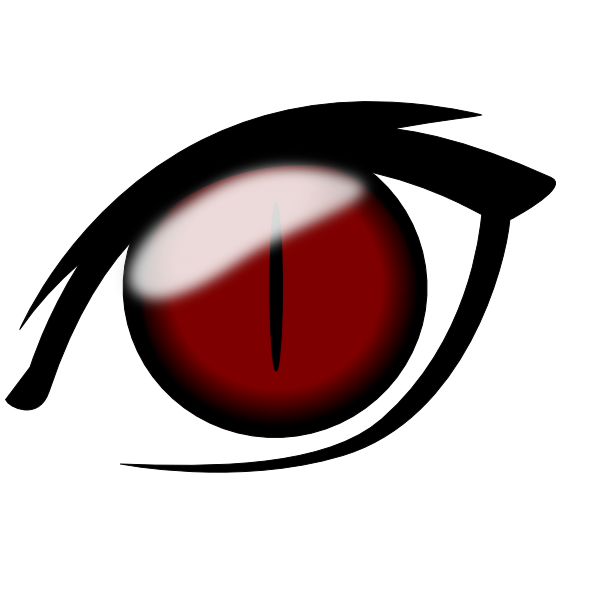 Anime Eye1 Clip Art at Clker.com.