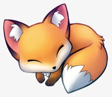 Free Cute Fox Clip Art with No Background.