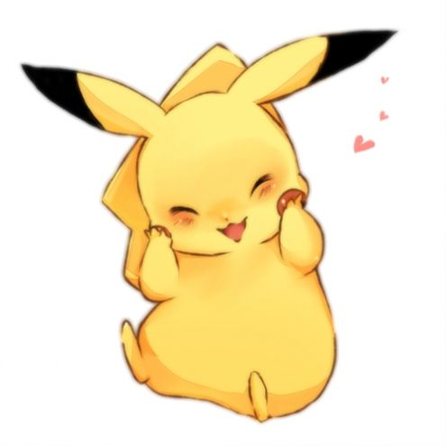 Pikachu anime animals and art images on clipart.