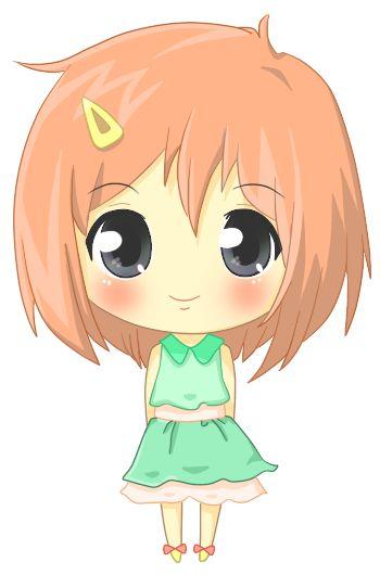 Cute girl.