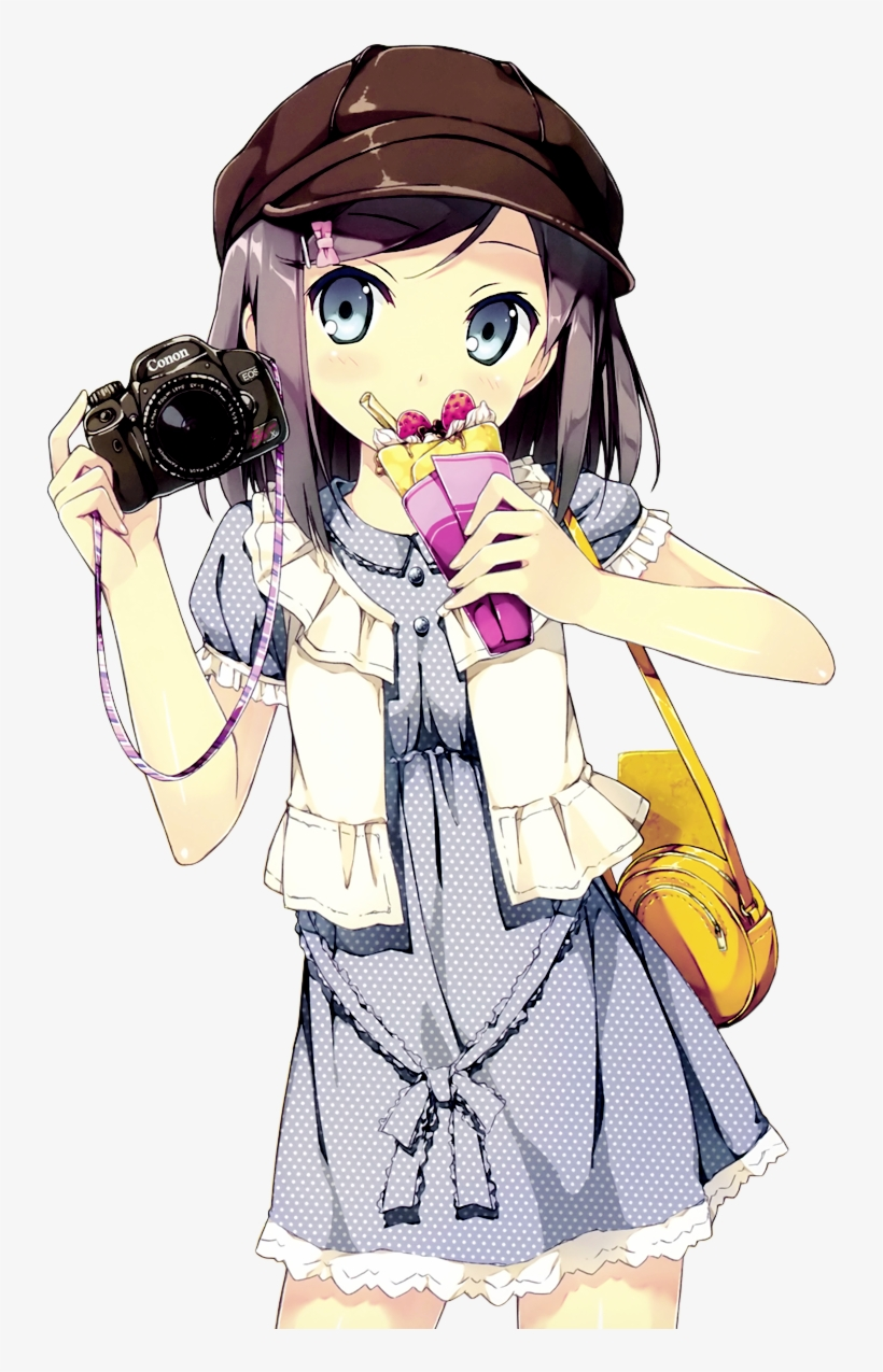 Anime Girl Png Clipart.