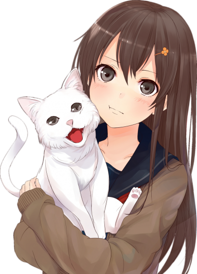Download ANIME GIRL Free PNG transparent image and clipart.