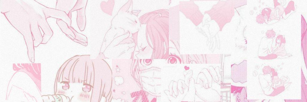 header pink anime kawaii.